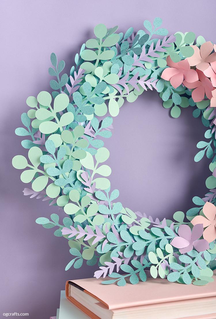 Eucalyptus & Hydrangea Wreath