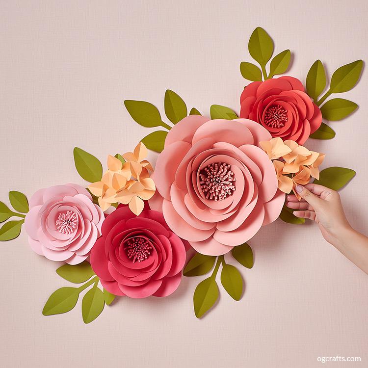 handmade giant paper flowers