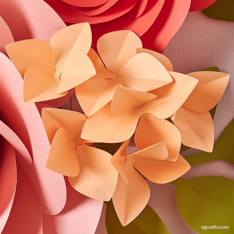hydrangea giant paper flowers
