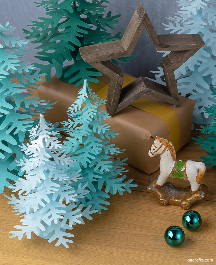 handmade paper holiday decor