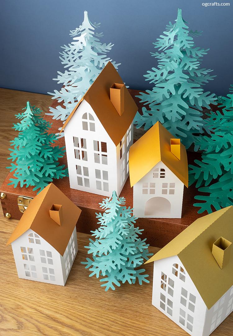 paper village handmade